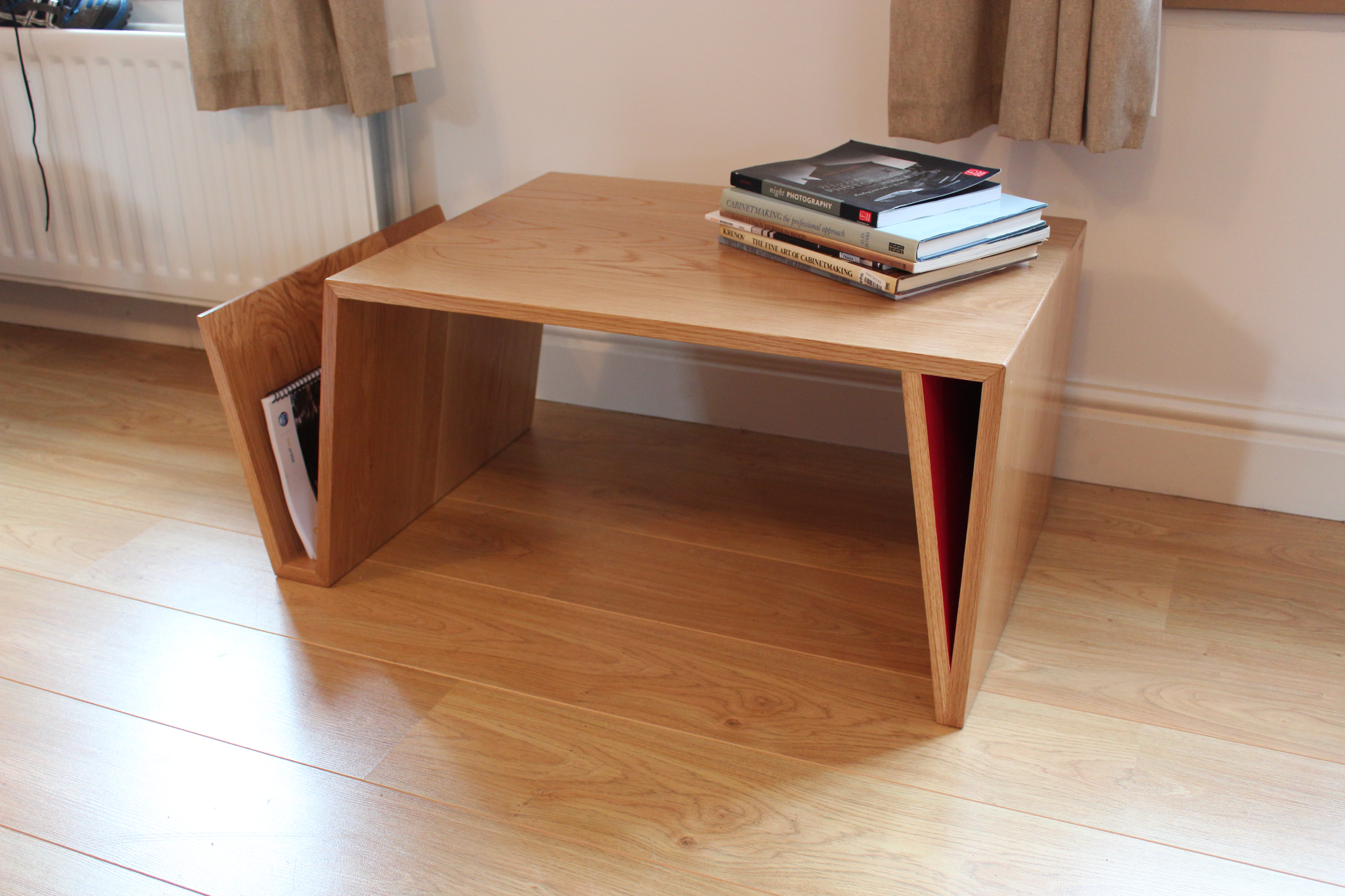 The fold hm handmade 39 s 1st furniture collection hugh miller for Homemade furniture