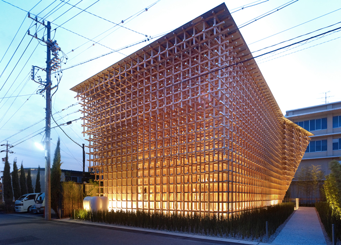 The GC Prostho Museum And Research Center By Kengo Kuma Is A Masterpiece Of Japanese Contemporary