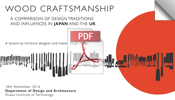 Wood Craftsmanship A Comparison Of Design Influences In Japan And